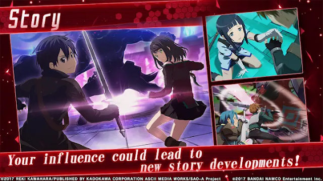 SAO: Integral Factor Gameplay Features