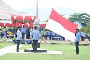 PLT Bupati Lombok Utara Jadi Irup Apel HUT KORPRI dan PGRI 2020