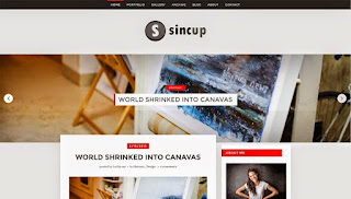SinCup Blogger Template