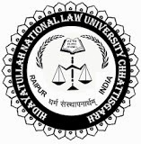 Teaching & Non Teaching Vacancies in HNLU (Hidayatullah National Law University)