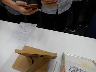 AR service design meetup AR切り絵デモ体験