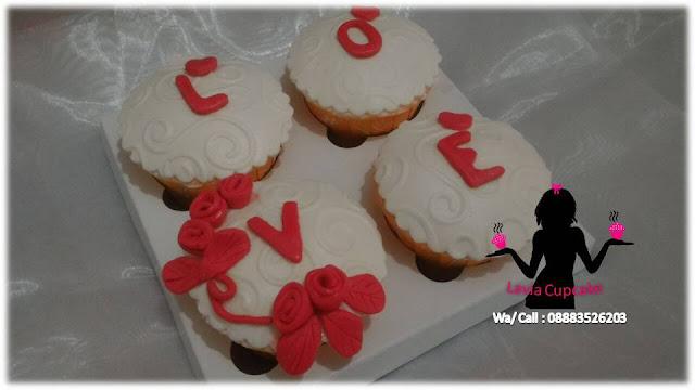 CupCake Pernyataan Cinta Buat Pujaan Hati