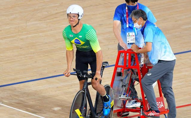 Carlos Alberto Soares fecha em último na perseguição individual nas paralimpíadas - Foto: UCI / Divulgação