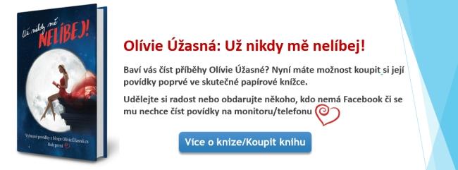 Kniha Olívie Úžasná: Už nikdy mě nelíbej!