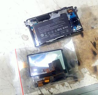 Service Mirrorless Sony Nex / alfa LCD Flip Error / Mati