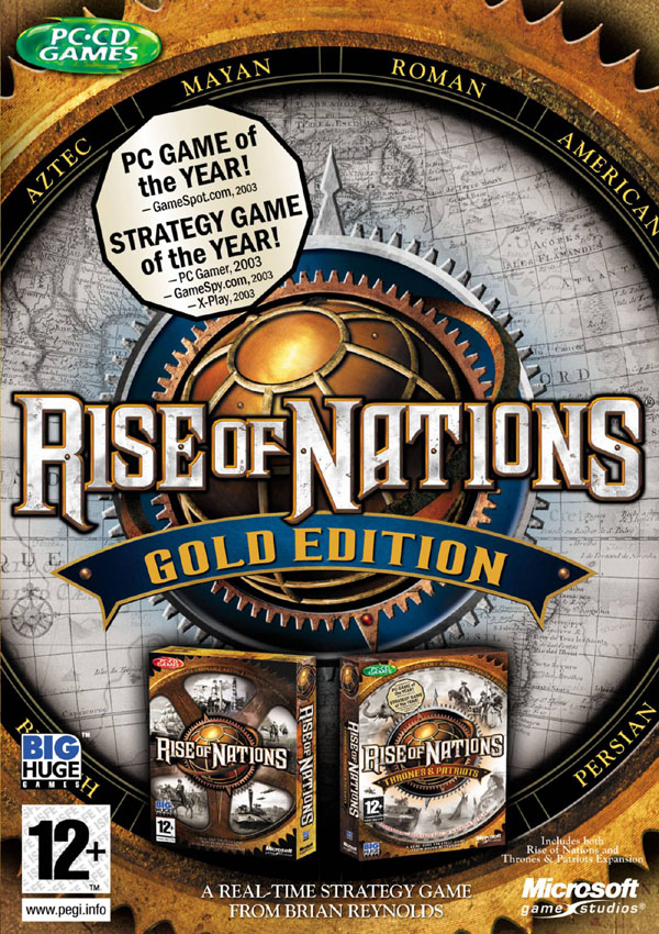 Rise of Nations Gold Edition Download Cover Free Game