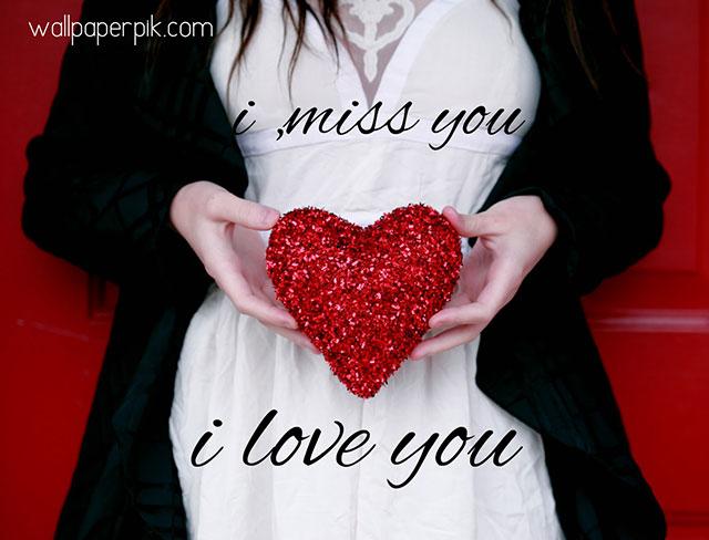 i miss you i love you image