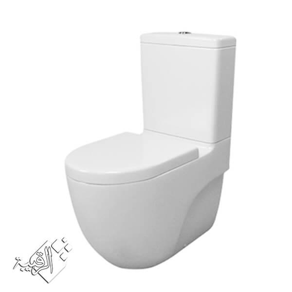 طقم حمام ليسيكو موديل ماتريكس أبيض