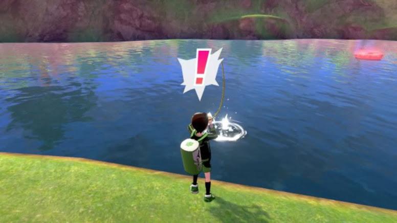 Brilliant Pokémon Fishing