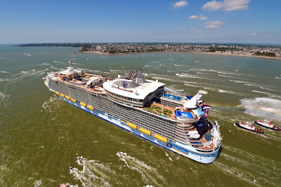 Royal Caribbean's Harmony of the Seas to be Named by Brittany Affolter On November 10, 2016 in Port Everglades.