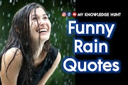 Funny Quotes About Rain with Images, Jokes & Memes