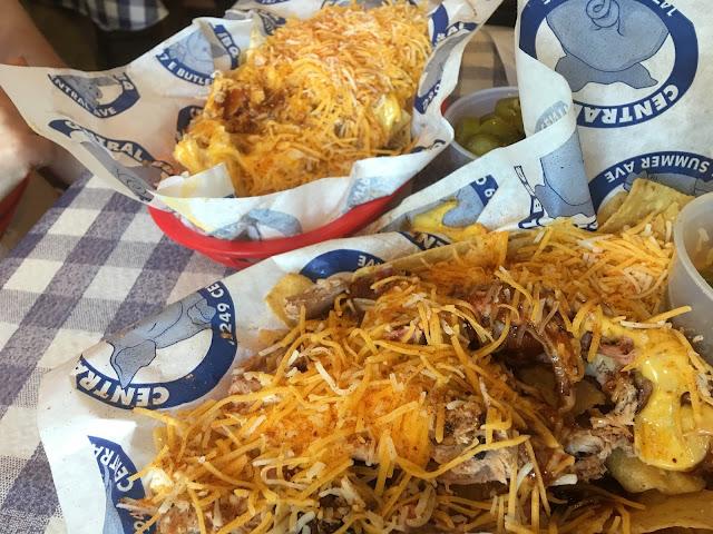 Memphis restaurant, Central BBQ nachos