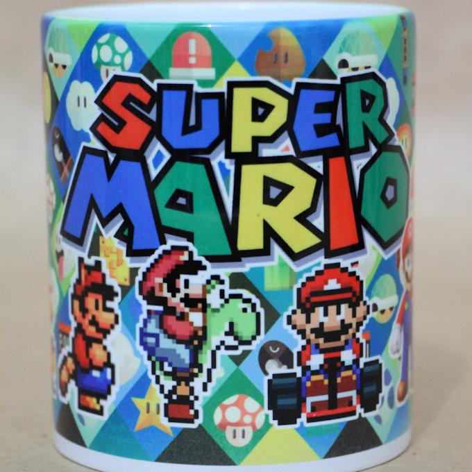 Super Mario caneca R$ 400 codigo:001