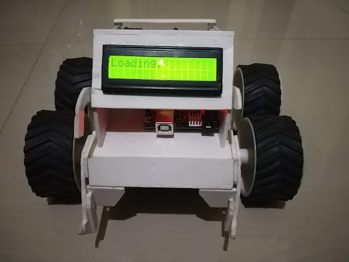 IOT Robot with NodeMCU and Arduino using Blynk.