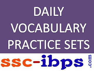 DAILY VOCABULARY PRACTICE SET- 12