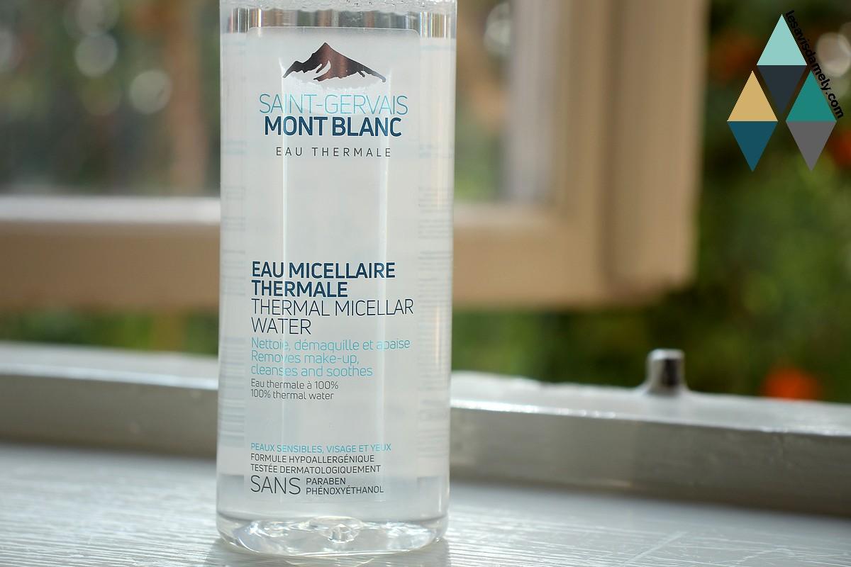revue beauté eau micellaire thermale nettoyant démaquillant saint gervais