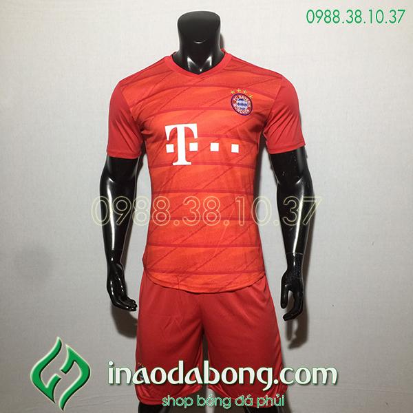 Áo bóng đá câu lạc bộ Bayern đỏ 2020