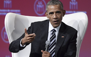 Obama delivers a new veiled slap at Trump as he warns – in Canada – that America could descend into 'extreme nationalism and xenophobia and the politics of us-versus-them'