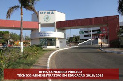 edital UFMA Concurso - técnico-administrativos 2018-2019 {Apostilas}