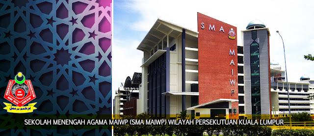 Permohonan Sekolah Menengah Agama SMA MAIWP 2018