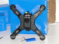 JJRC H25 Quadcopter back