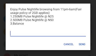MTN night data plan