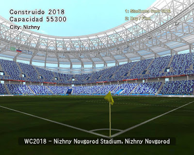 PES 6 Stadiums Nizhny Novgorod Stadium ( World Cup 2018 )