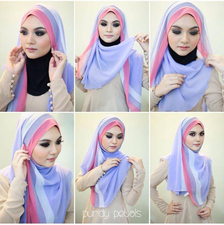 tutorial pakai hijab terbaru