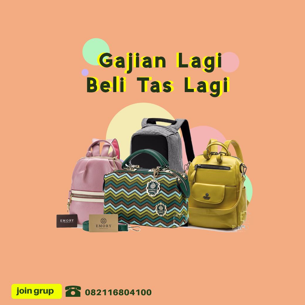 Seperti tas emory yang merupakan tas batam import yang sangat terkenal di  kalangan penggemar tas khususnya wanita. Tas emory banyak di jual di  pasaran ialah ... 0c645da089
