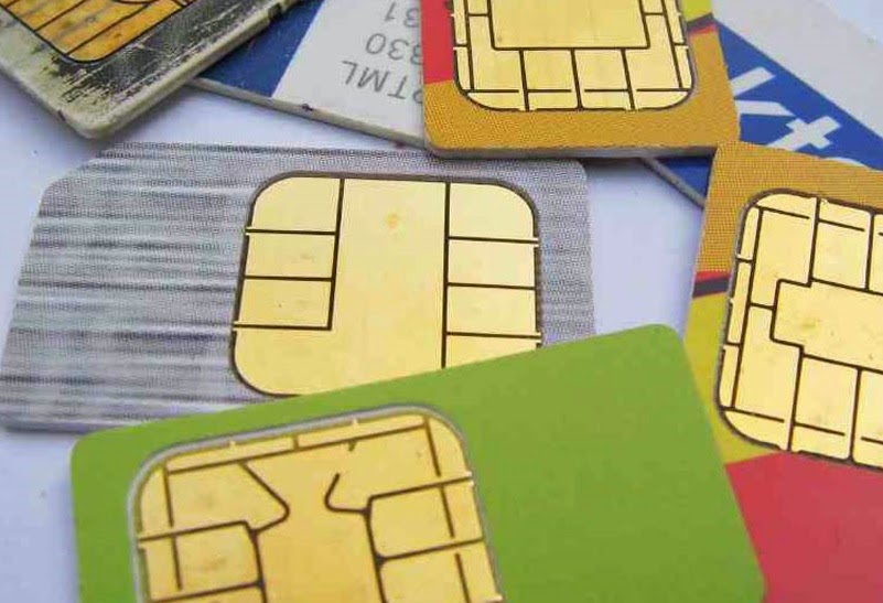 picture of different types of SIM cards