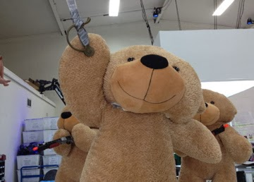 Giant Teddy bear Shaggy Cuddles