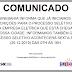 Comunicado do SINEBAHIA/SAC de Sr. do Bonfim para o processo seletivo da nova empresa elétrica