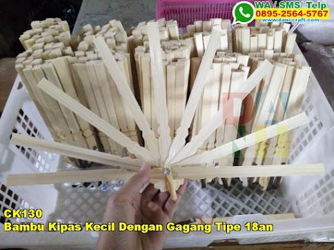 Grosir Bambu Kipas Kecil Dengan Gagang Tipe 18an