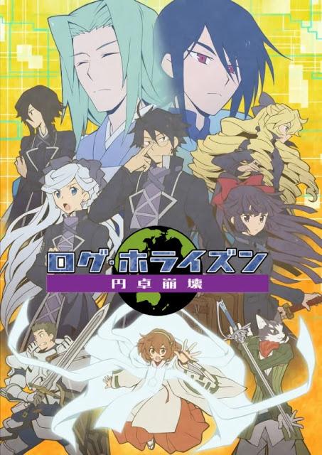 """Tanggal Rilis """"Log Horizon: Entaku Houkai"""" Season 3 Diumumkan!"""