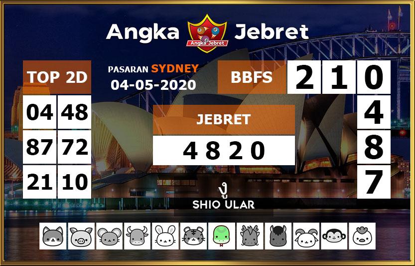 Prediksi Sydney 04 Mei 2020 - Angka Jebret