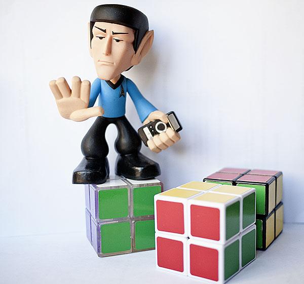 Rubik 2x2x2 Spock Star Trek