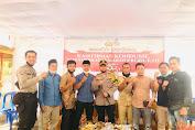 Aksi Sosial, Polres Lombok Tengah Datangi Warga Desa Pandan Indah, Bagikan Sembako