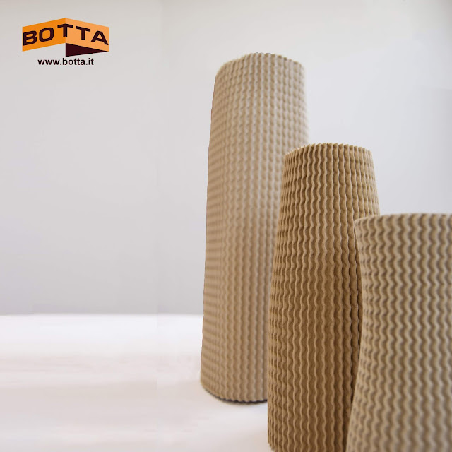 eco sleeves. elastic corrugated cardboard