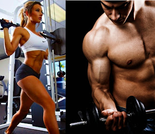 Alzar pesas en ayunas músculos sin grasa