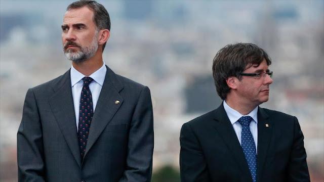 Puigdemont: Felipe VI puede visitar Barcelona si pide perdón