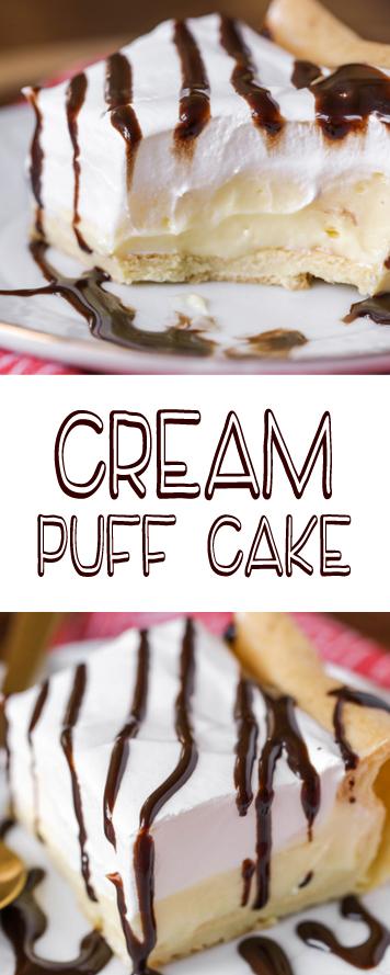 Recipe CREAM PUFF CAKE RECIPE