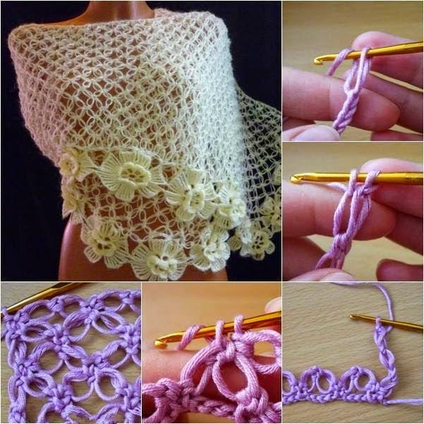 Punto explicado de crochet