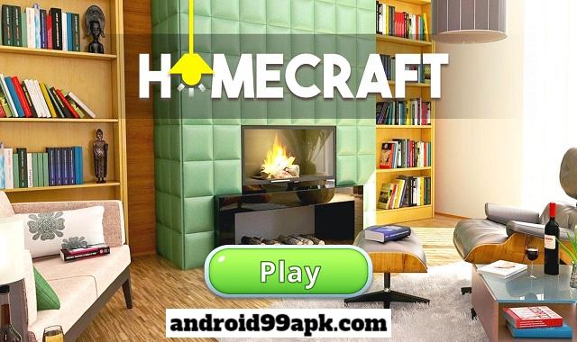 لعبة Homecraft - Home Design v1.4.16 مهكرة (بحجم 69 MB) للأندرويد