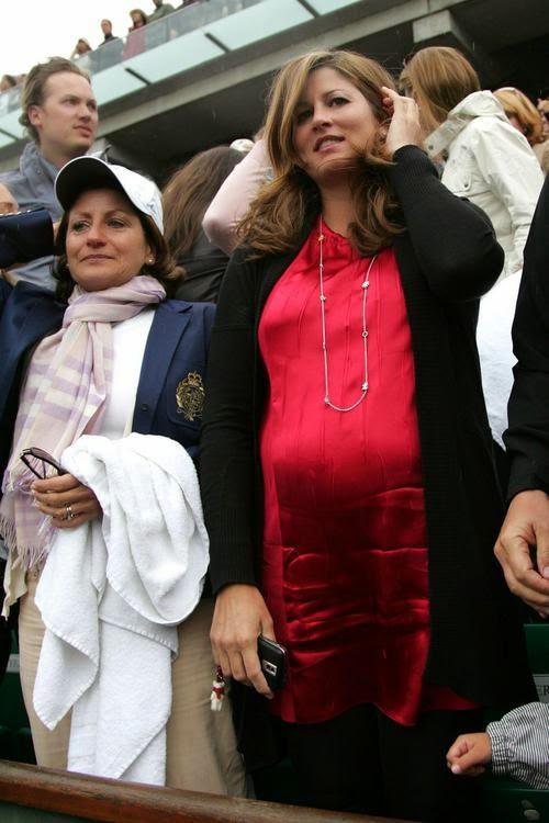 Federer S Wife Pregnant 94