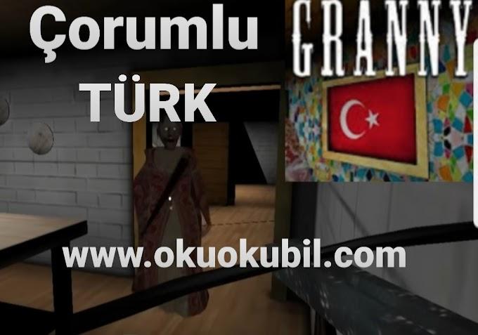 Granny 1.5 Çorumlu Türk  (Türkçe Granny Modu İndir) Apk 2020