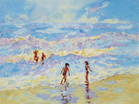 Mary Kemp Oil Painting