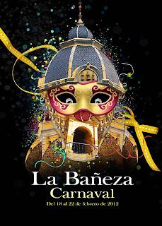 Cartel del carnaval de La Bañeza (León) - Rubén Lucas García
