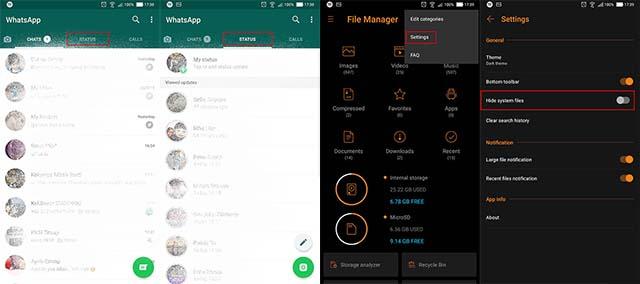 Trik Menyimpan Status WhatsApp