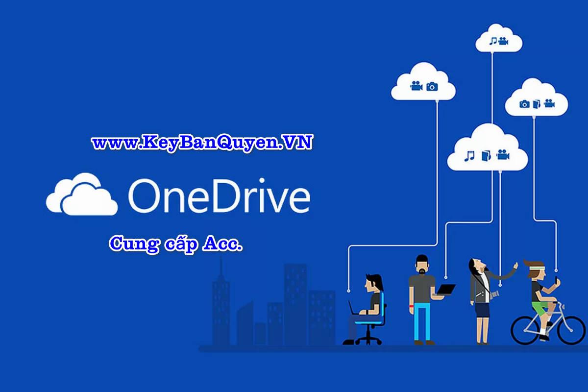 Bán Account OneDrive Business 1TB giá rẻ - Uy tín.