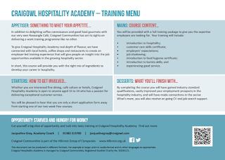 Craigowl Communities Hospitality Academy 2